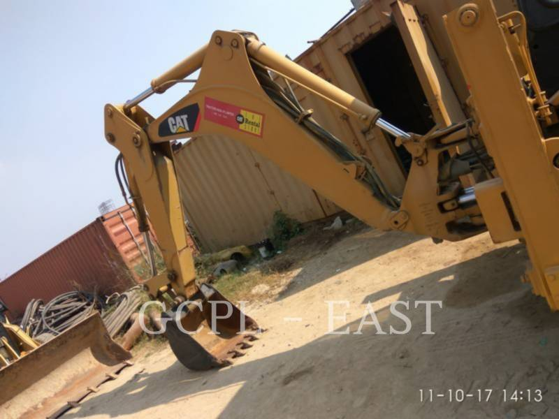CATERPILLAR BACKHOE LOADERS 424 B equipment  photo 8