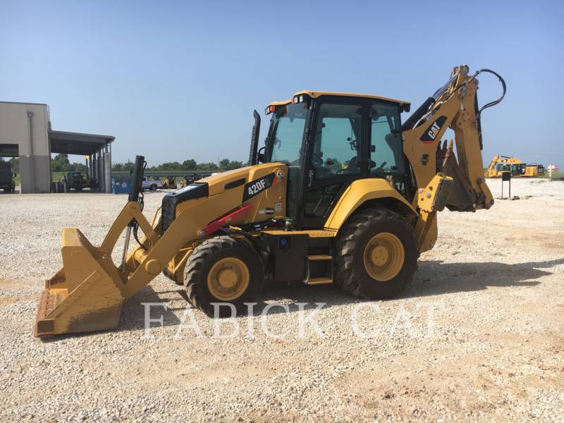 CATERPILLAR CHARGEUSES-PELLETEUSES 420F2 HT equipment  photo 2