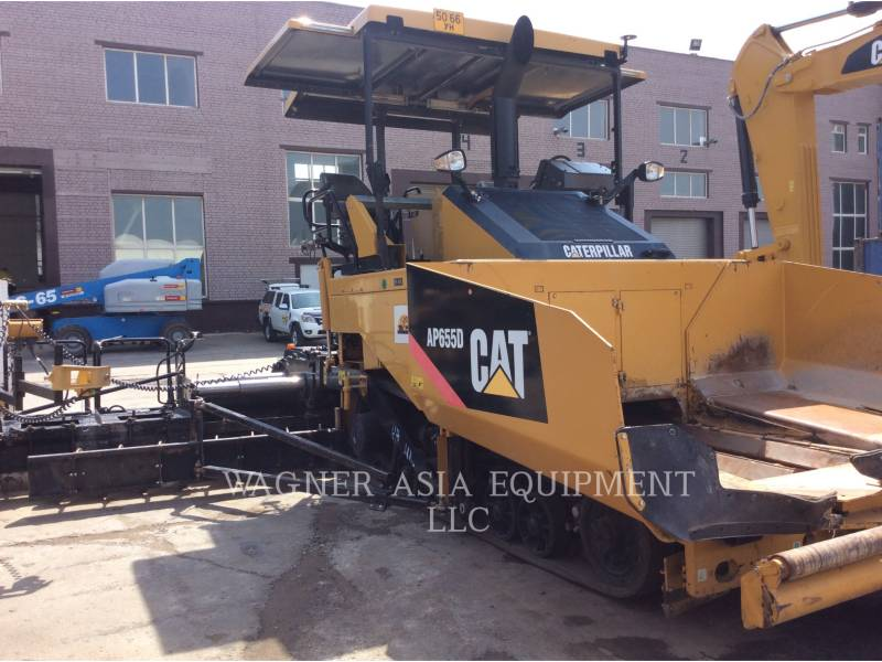 Caterpillar BETONIERE DE ASFALT AP-655D equipment  photo 4