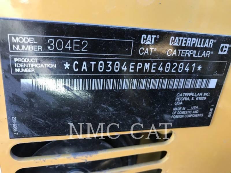 CATERPILLAR トラック油圧ショベル 304E2CR equipment  photo 6