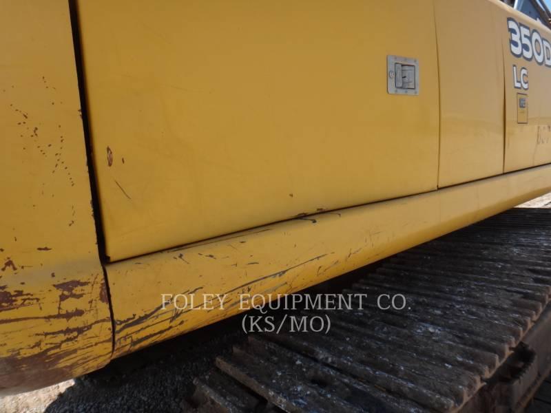 DEERE & CO. TRACK EXCAVATORS 350D equipment  photo 17