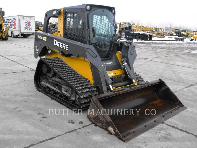 DEERE & CO. SKID STEER LOADERS 333D equipment  photo 2
