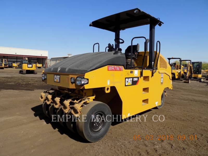 CATERPILLAR PNEUMATIC TIRED COMPACTORS CW16 equipment  photo 4
