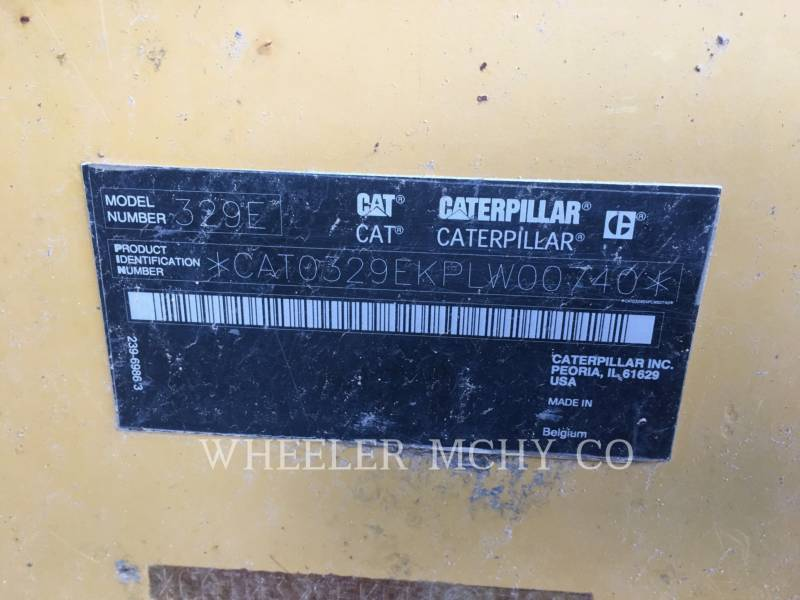 CATERPILLAR PELLES SUR CHAINES 329E L equipment  photo 10