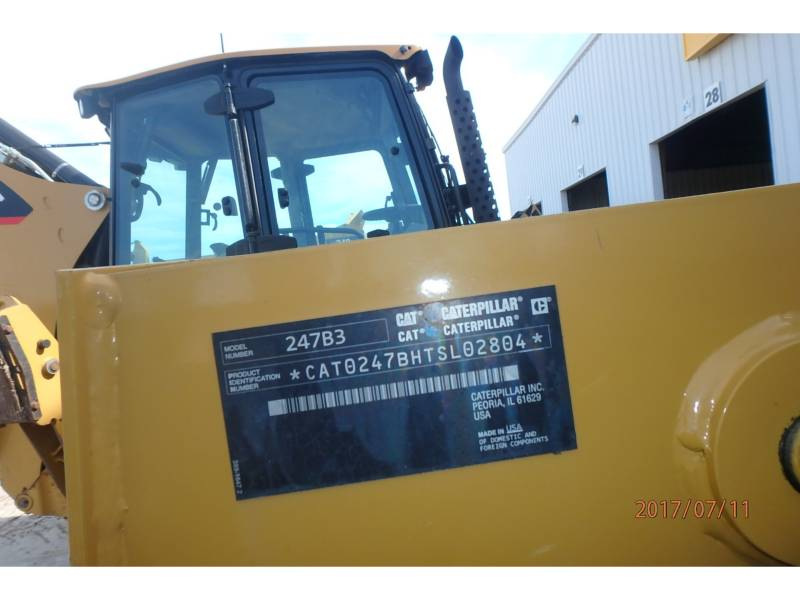 CATERPILLAR MULTI TERRAIN LOADERS 247B3 equipment  photo 15