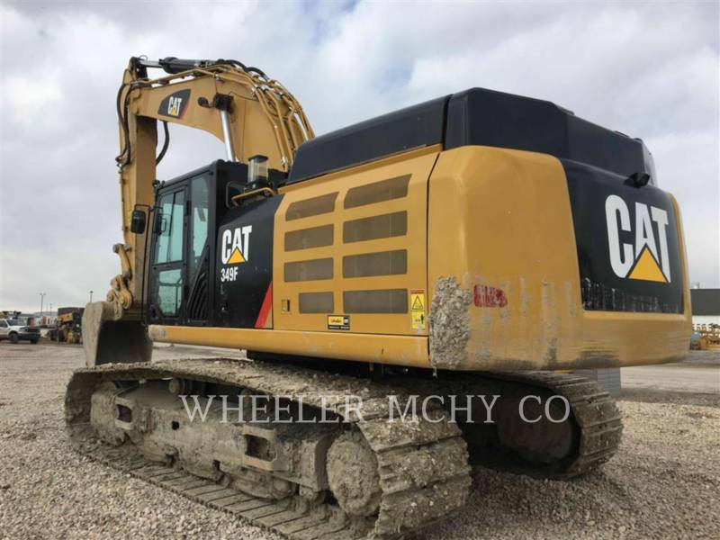CATERPILLAR EXCAVADORAS DE CADENAS 349F L THM equipment  photo 4