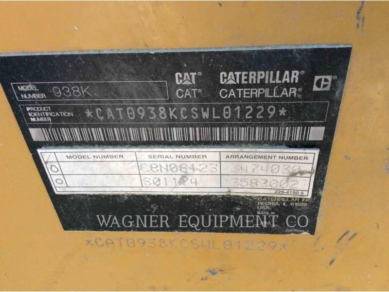 CATERPILLAR WHEEL LOADERS/INTEGRATED TOOLCARRIERS 938K FC equipment  photo 5