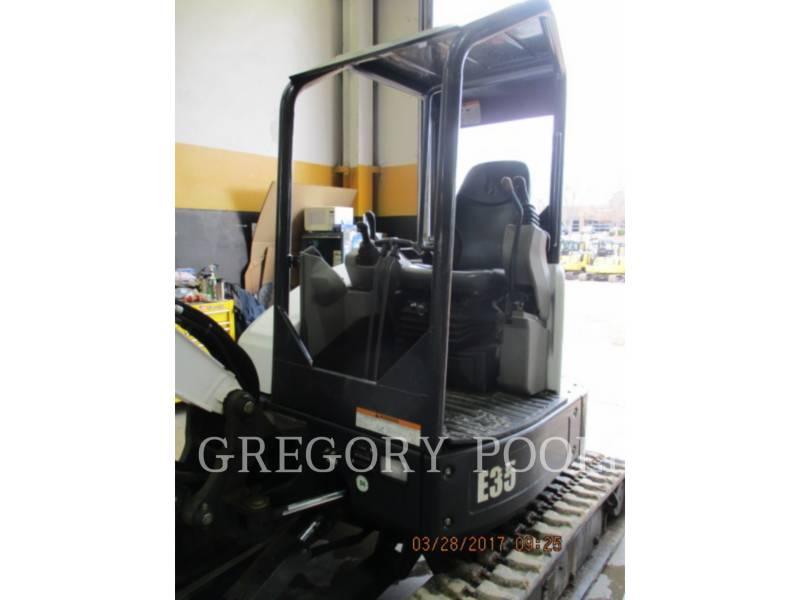 BOBCAT TRACK EXCAVATORS E35 equipment  photo 14