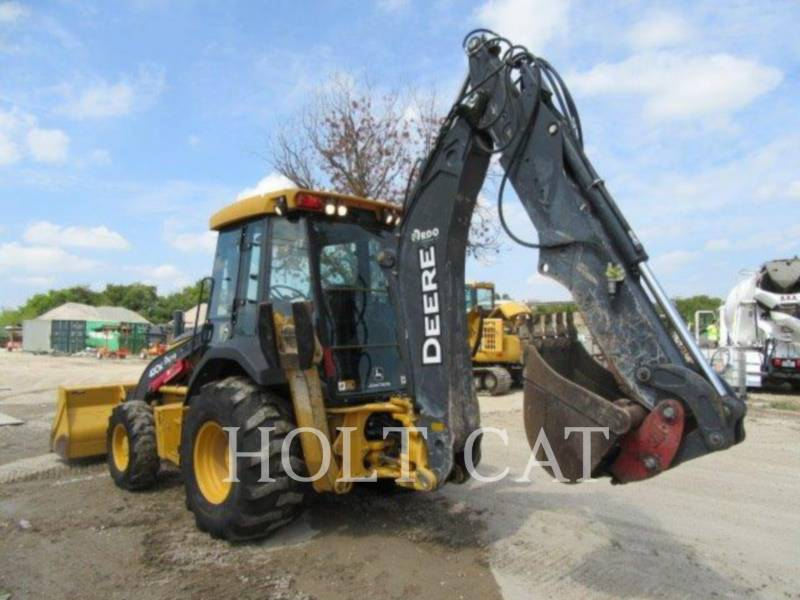 DEERE & CO. BACKHOE LOADERS 410K equipment  photo 4