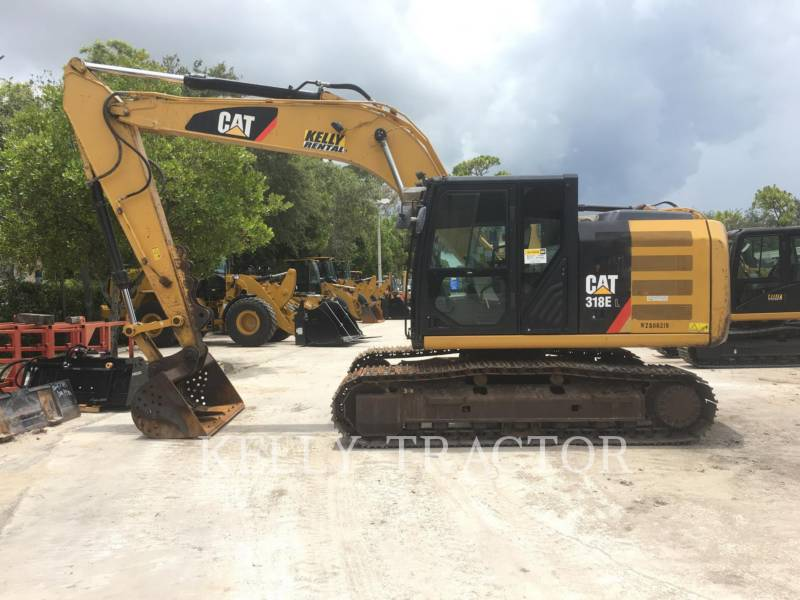 CATERPILLAR KETTEN-HYDRAULIKBAGGER 318EL equipment  photo 2