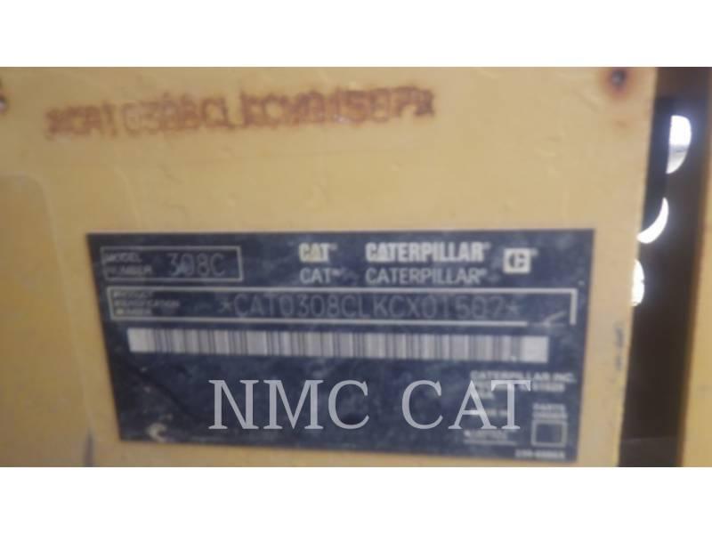 CATERPILLAR PELLES SUR CHAINES 308CCR equipment  photo 6