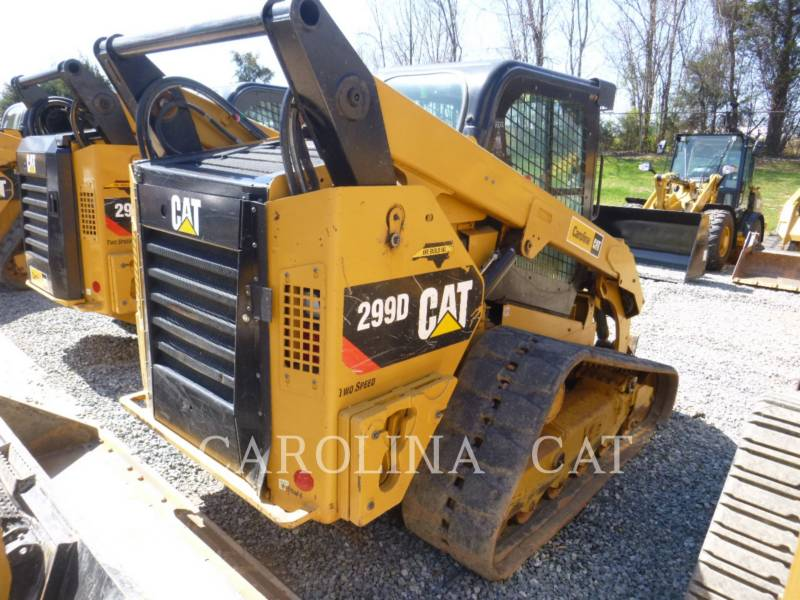 CATERPILLAR CARGADORES DE CADENAS 299D equipment  photo 2