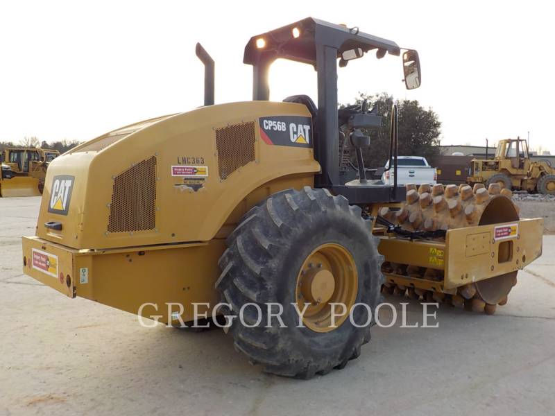 CATERPILLAR COMPACTEUR VIBRANT, MONOCYLINDRE À PIEDS DAMEURS CP-56B equipment  photo 11