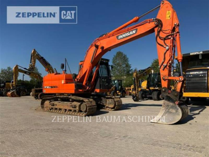 DOOSAN INFRACORE AMERICA CORP. TRACK EXCAVATORS DX180 equipment  photo 5