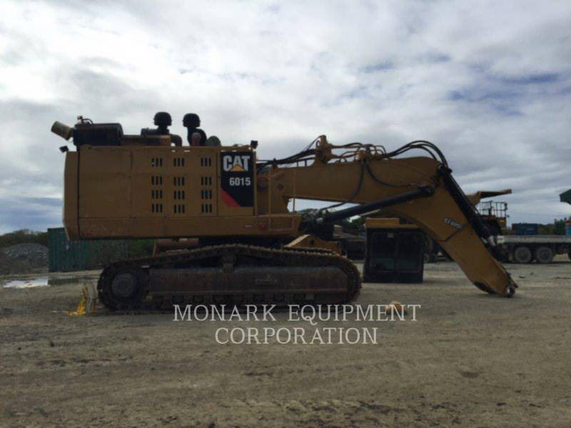 CATERPILLAR KETTEN-HYDRAULIKBAGGER 6015 equipment  photo 17