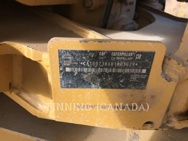CATERPILLAR ARTICULATED TRUCKS 730 equipment  photo 18