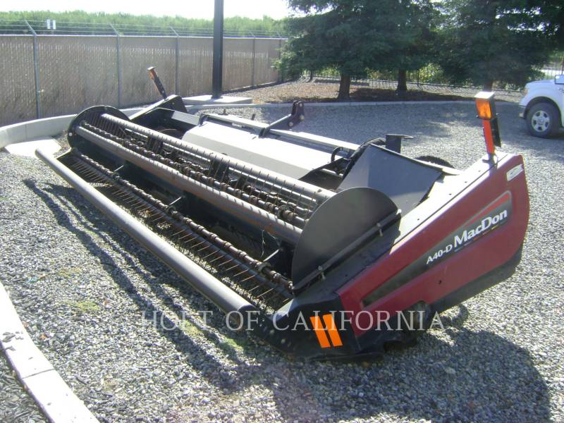 MACDON ANDAINEURS AG M205  GMH1099 equipment  photo 16