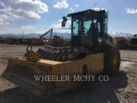 CATERPILLAR VIBRATORY SINGLE DRUM PAD CP74B equipment  photo 3