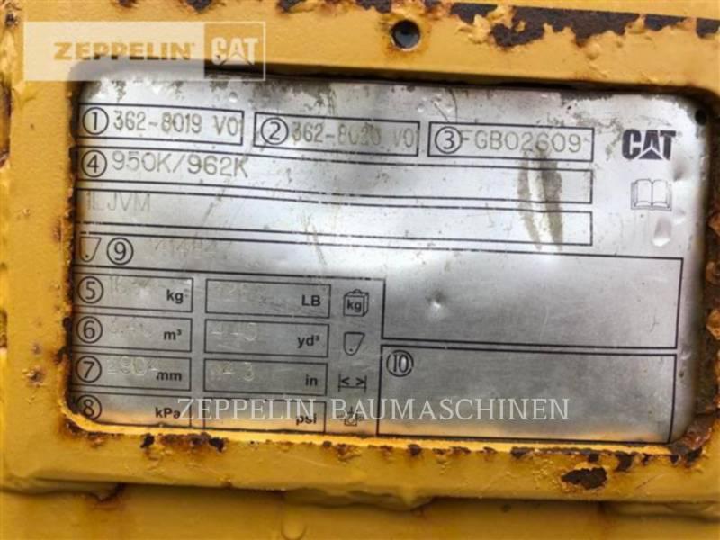 CATERPILLAR RADLADER/INDUSTRIE-RADLADER 950K equipment  photo 10