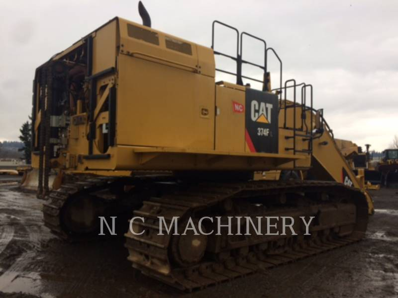 CATERPILLAR ESCAVATORI CINGOLATI 374FL equipment  photo 4