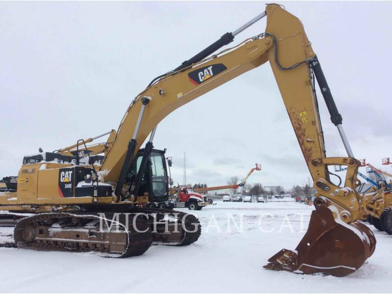 CATERPILLAR トラック油圧ショベル 349ELVG equipment  photo 1