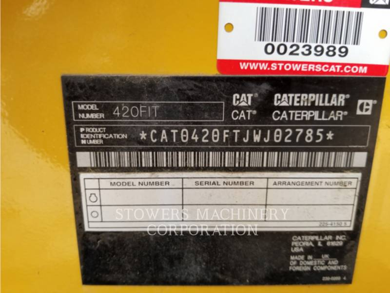 CATERPILLAR TERNE 420FIT equipment  photo 5