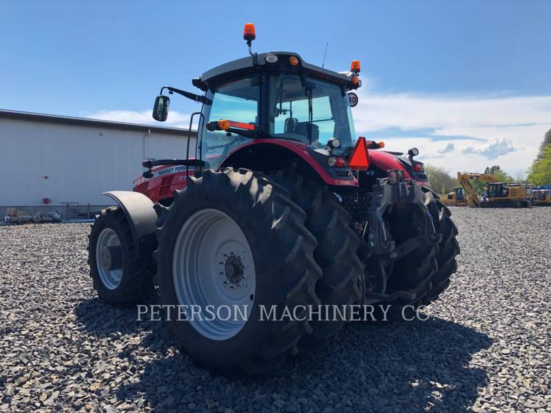 AGCO-MASSEY FERGUSON AG TRACTORS MF8727 equipment  photo 3