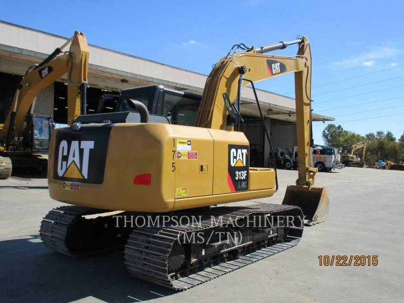 CATERPILLAR KETTEN-HYDRAULIKBAGGER 313F GC equipment  photo 2