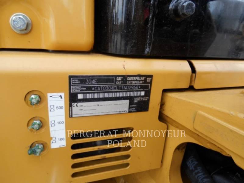 CATERPILLAR ESCAVADEIRAS 304ECR equipment  photo 7