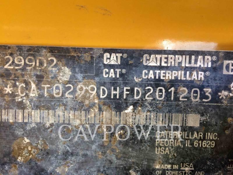 CATERPILLAR PALE CINGOLATE MULTI TERRAIN 299D2 equipment  photo 5