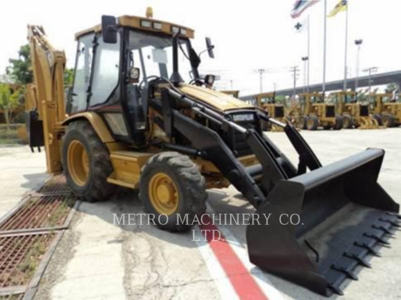 CATERPILLAR BACKHOE LOADERS 428C equipment  photo 4