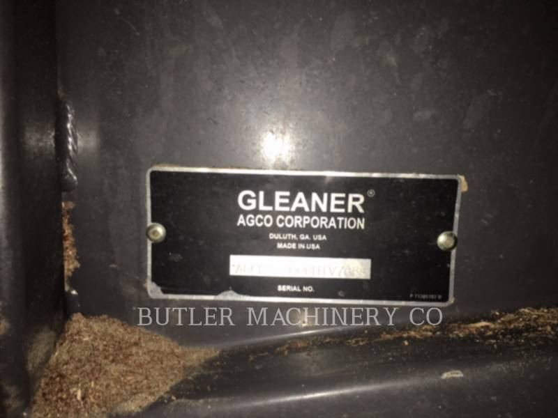GLEANER COMBINADOS S77 equipment  photo 8