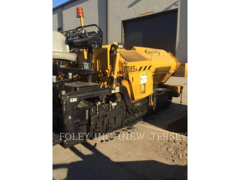 WEILER PAVIMENTADORA DE ASFALTO P385A equipment  photo 3
