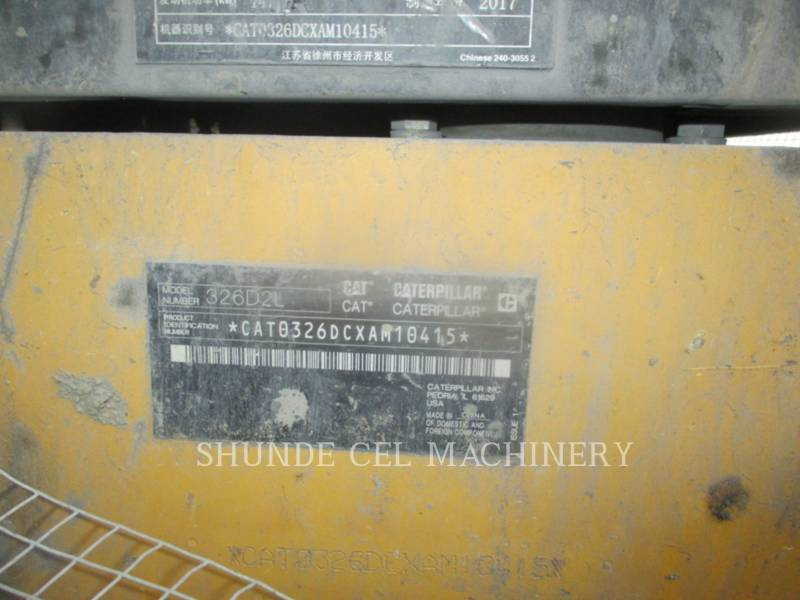 CATERPILLAR EXCAVADORAS DE CADENAS 326D2L equipment  photo 3