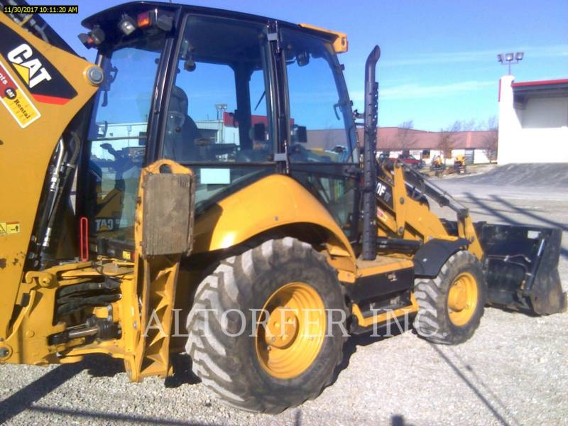 CATERPILLAR RETROEXCAVADORAS CARGADORAS 420F IT- equipment  photo 3