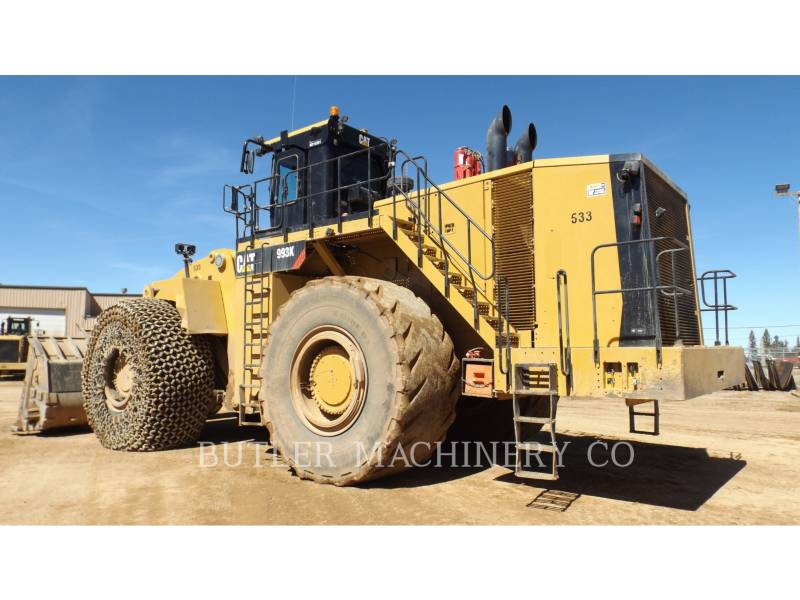 Caterpillar ÎNCĂRCĂTOR MINIER PE ROŢI 993 K equipment  photo 4
