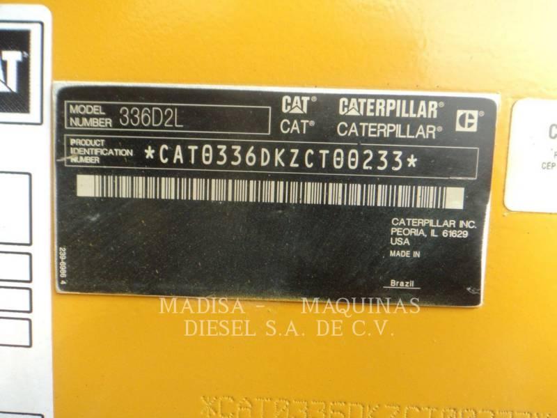 CATERPILLAR トラック油圧ショベル 336D2L equipment  photo 8