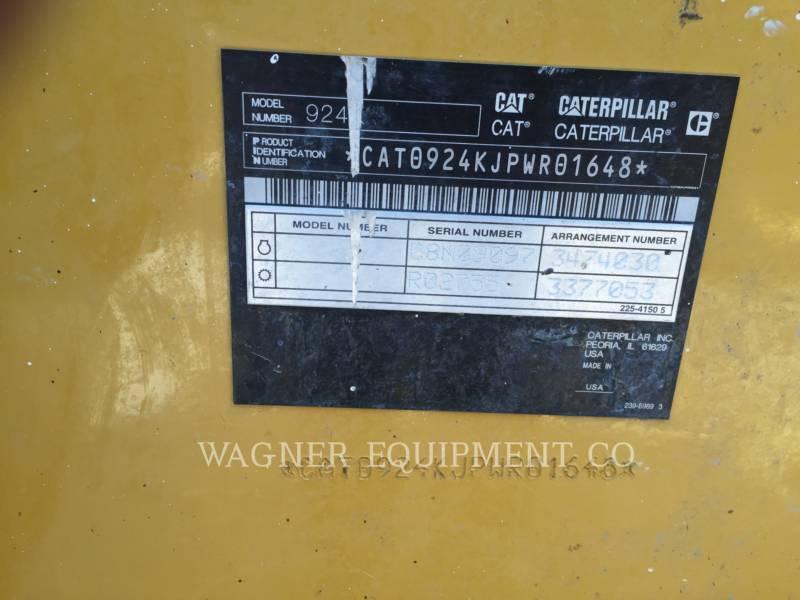 CATERPILLAR WHEEL LOADERS/INTEGRATED TOOLCARRIERS 924K equipment  photo 5