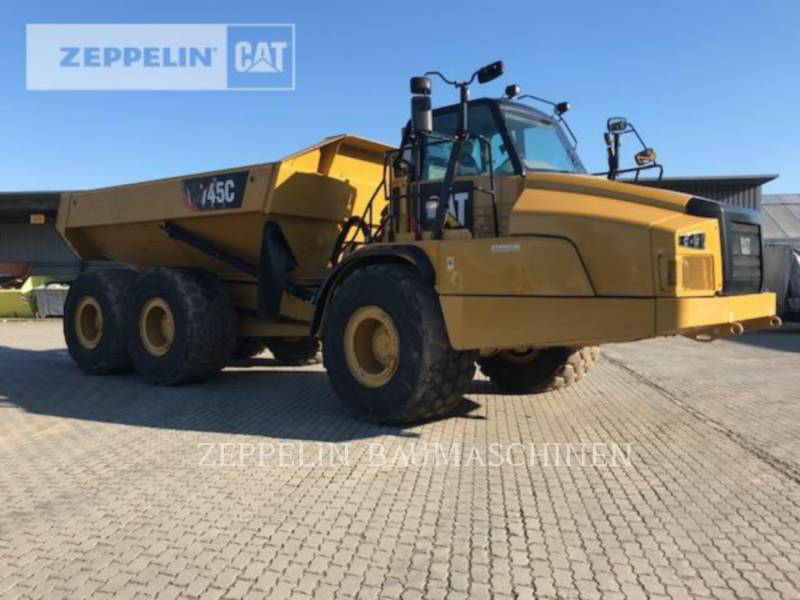 ACKERMAN (SWEDEN) KNICKGELENKTE MULDENKIPPER 745C equipment  photo 3