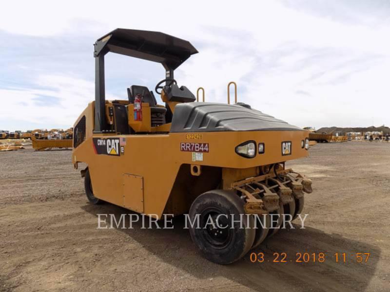 CATERPILLAR GUMMIRADWALZEN CW14 equipment  photo 1