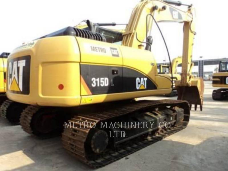 CATERPILLAR KETTEN-HYDRAULIKBAGGER 315DL equipment  photo 5