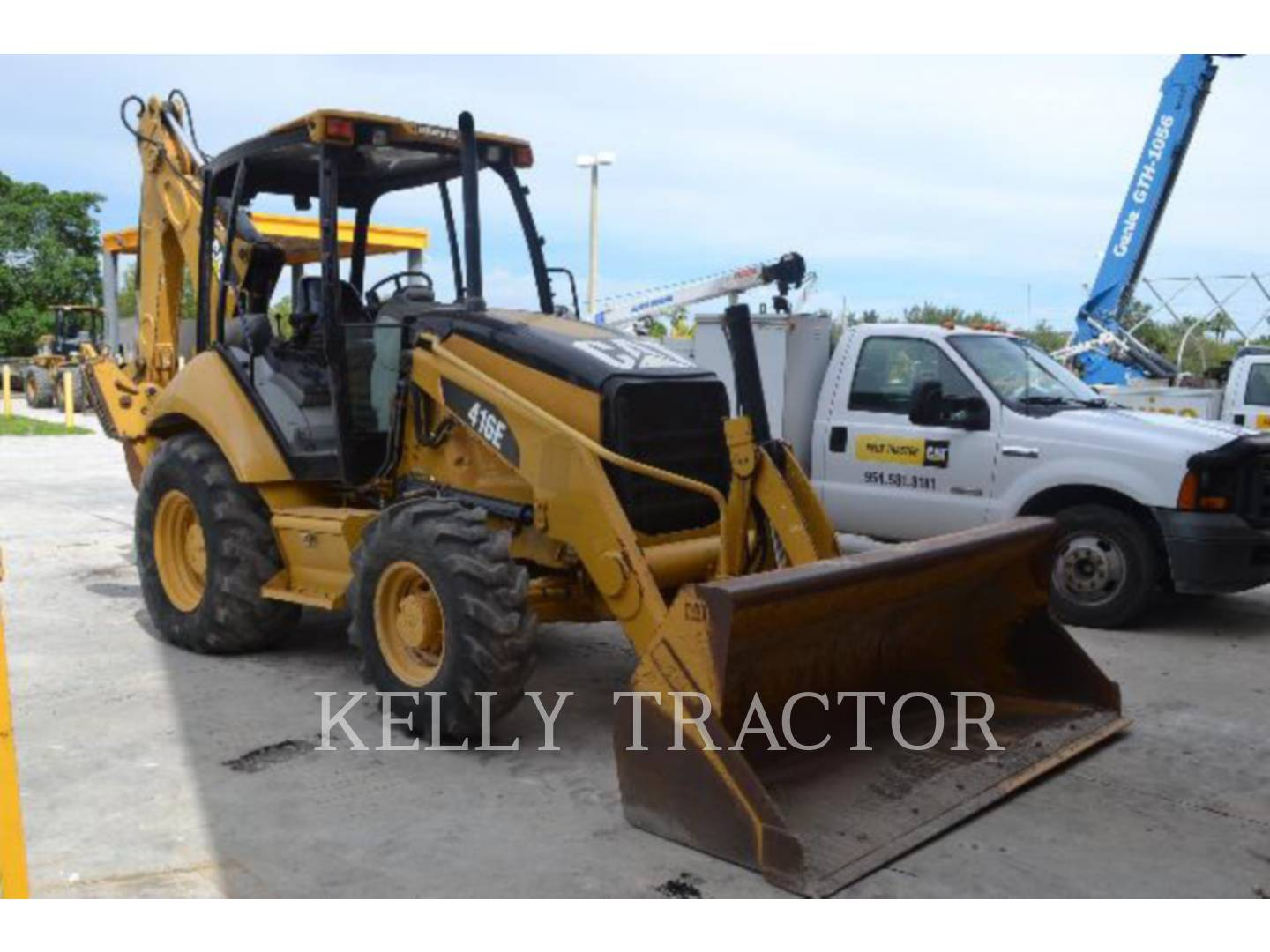 Detail photo of 2008 Caterpillar 416E from Construction Equipment Guide