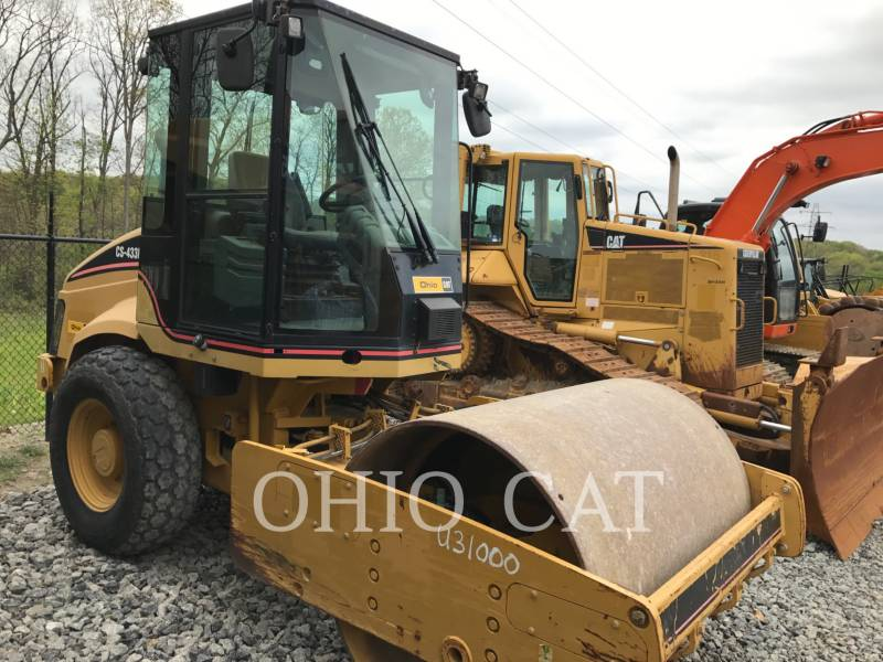 CATERPILLAR RODILLOS COMBINADOS CS433E equipment  photo 2