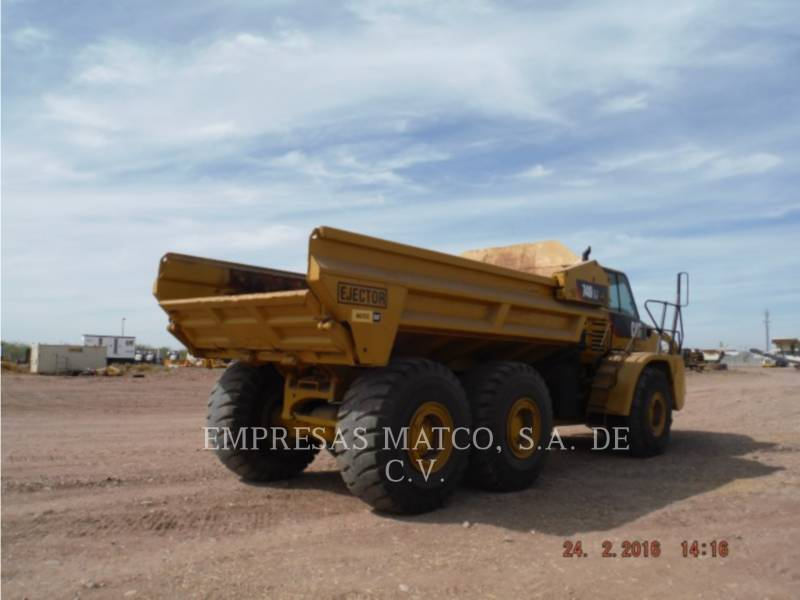 CATERPILLAR DUMPER ARTICOLATI 740 EJECTOR equipment  photo 6