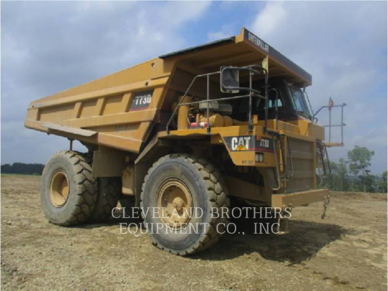 CATERPILLAR OFF HIGHWAY TRUCKS 773D equipment  photo 2