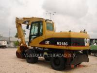 Equipment photo CATERPILLAR M318C PELLES SUR PNEUS 1