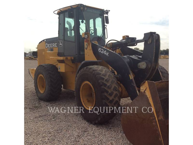 DEERE & CO. WHEEL LOADERS/INTEGRATED TOOLCARRIERS 624K equipment  photo 4
