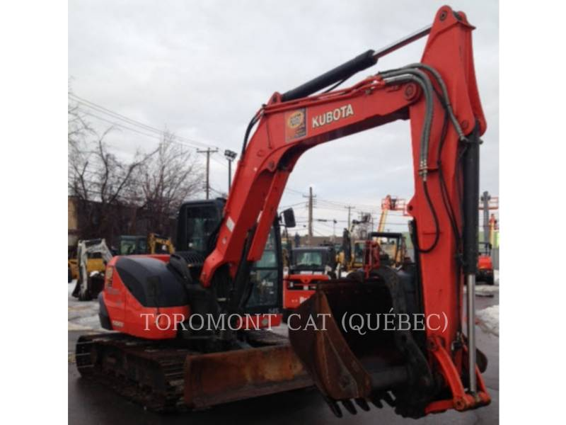 KUBOTA CORPORATION PELLES SUR CHAINES KX080-4 equipment  photo 2