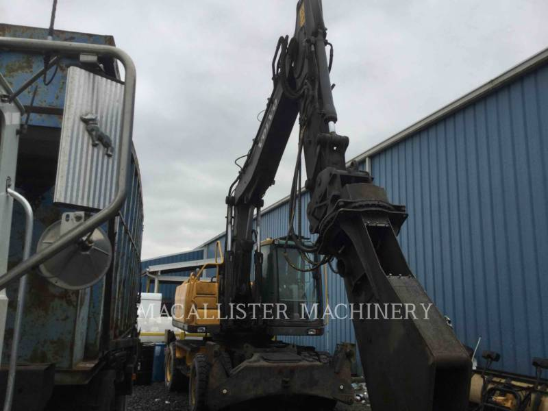 VOLVO CONSTRUCTION EQUIPMENT ホイール油圧ショベル EW180 equipment  photo 8