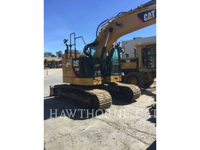 CATERPILLAR TRACK EXCAVATORS 314E CRTH equipment  photo 5